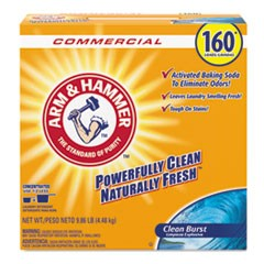 Powder Laundry Detergent, Clean Burst, 9.86 lb Box, 3/Carton