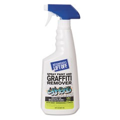 No. 4 Spray Paint Graffiti Remover, 22oz Trigger Spray, 6/CT