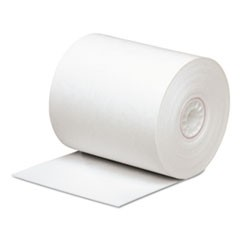 "Direct Thermal Printing Paper Rolls, 0.45"" Core, 3.13"" x 290 ft, White, 50/Carton"