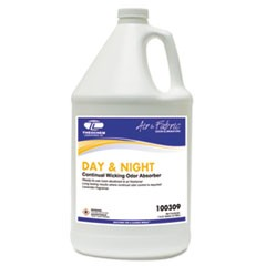 DAY & NIGHT Concentrated Liquid Odor Absorber, Neutral, 1gal, Bottle, 4/Carton
