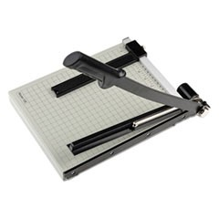 "Vantage Guillotine Paper Trimmer/Cutter, 15 Sheets, 12"" Cut Length"