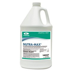 NUTRA-MAX Disinfectant Cleaner/Deodorizer, 1gal Bottle, 4/Carton