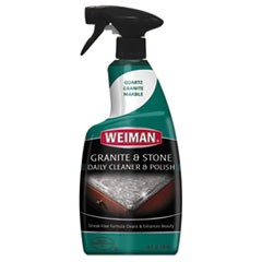Granite Cleaner and Polish, Citrus Scent, 24 oz Bottle, 6/Carton