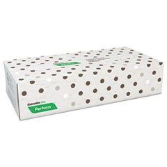 Perform Facial Tissue, 2-Ply, Beige, 100 Sheets/Box, 30 Boxes/Carton