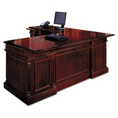 Keswick Collection Right Pedestal Desk, 72w x 36d x 30h, Cherry