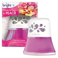 Scented Oil Air Freshener Diffuser, Fresh Petals and Peach, Pink, 2.5oz