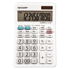 EL-330WB Desktop Calculator, 10-Digit LCD