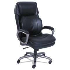 Cosset Big and Tall Executive Chair, Black