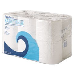 1Office Packs Toilet Tissue, Septic Safe, 2-Ply, White, 4 x 4, 300 Sheets/Roll, 72 Rolls/Carton