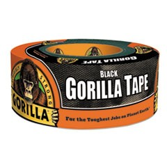 "Gorilla Tape, Extra-Thick, All-Weather Duct Tape, 1.88"" x 12 yds, 3"" Core, Black"