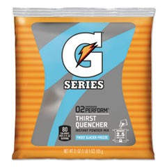Powdered Drink Mix, Glacier Freeze, 21oz Packet, 32/Carton