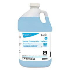 Suma Freeze D2.9 Floor Cleaner, Liquid, 1 gal, 4 per carton