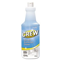 Crew Non-Acid Disinfectant Cleaner, Liquid, 32 oz