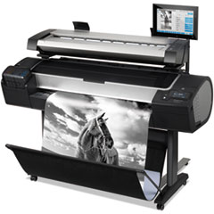 DesignJet HD Pro MFP with Encrypted Hard Disk, Copy/Print/Scan
