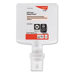 Soft Care Impact, Foam Hand Sanitizer, 1200 mL, Cartridge, Alcohol, 6/CT