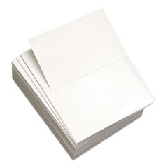 Custom Cut-Sheet Copy Paper, 92 Bright, 20lb, 8 1/2 x 11, White, 500/RM