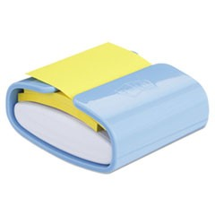 Wrap Dispenser, For 3 x 3 Pads, White/Periwinkle