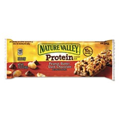 Protein Chewy Bar, Peanut Butter Chocolate, Box, 1.5 lb, 16 per box