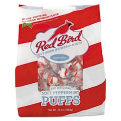 Peppermint Puffs, Peppermint, Tub, 46 oz