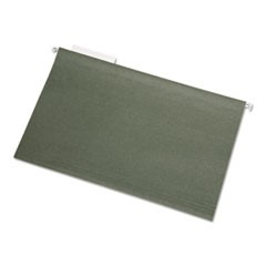 7530013576854, Hanging File Folder, Legal, 1/3 Tab Cut, Green, 25/Box