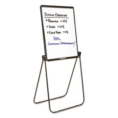 Ultima Presentation Easel, 27 x 34, White Surface, Black Frame