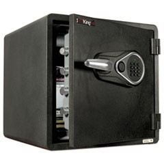 One Hour Fire and Water Safe with Electronic Lock, 1.23 cu. ft., Graphite