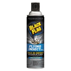 Black Flag Flying Insect Killer 3, 18 oz Aerosol, Fresh, 12/Carton