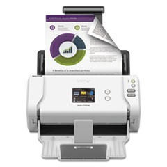 ImageCenter ADS-2700W Wireless Scanner, 600 dpi Optical Resolution, 50-Sheet Duplex Auto Document Feeder