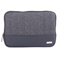 "Matt Tablet Sleeve, 7.5"" x 0.75"" x 7.5"", Polyester, Black/Gray"