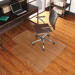 "EverLife Chair Mat for Hard Floors, 36"" x 48"", Clear"