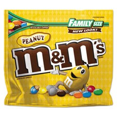 Milk Chocolate/Candy Coated Peanuts, 19.2oz Pack