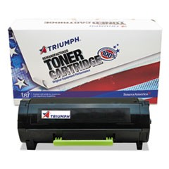 Remanufactured 50F0HA0/50F1H00 (MX310) High-Yield Toner, 5000 Page-Yield, Black