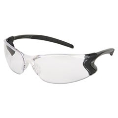 Backdraft Glasses, Clear Frame, Anti-Fog Clear Lens