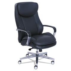 Commercial 2000 High-Back Executive Chair, Black