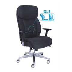 Commercial 2000 Series Ergonomic Task Chair w/Dynamic Lumbar Support, Black