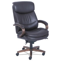 Woodbury Big and Tall Executive Chair, Brown