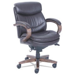 Woodbury Mid-Back Executive Chair, Brown