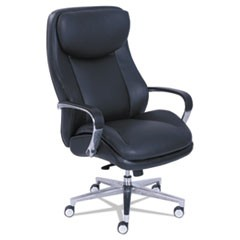 Commercial 2000 Big and Tall Executive Chair, Black