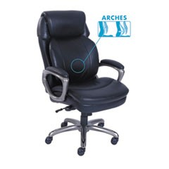 Cosset High-Back Executive Chair, Black