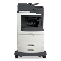 MX810dfe Multifunction Laser Printer, Copy/Fax/Print/Scan