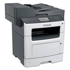 MX511dte Multifunction Laser Printer, Copy/Fax/Print/Scan