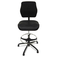 Production Chair, Black, Polyurethane