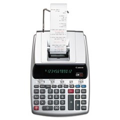 1MP25DV 12-Digit Ribbon Printing Calculator, Black/Red Print, 4.3 Lines/Sec
