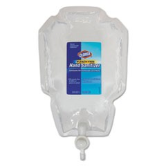 Push Button Dispenser Refill Liquid Hand Sanitizer, 1 L Bag