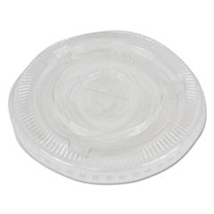 PET Cold Cup Lids, Fits 16-24 oz Plastic Cups, Clear, 2500/Carton