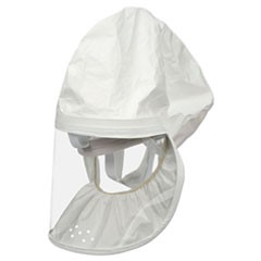 Personal Safety Division BE-12 Tychem QC Head Cover, White, Large, 3/Carton