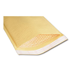 8105001179870 Sealed Air Jiffylite Cushioned Mailer, #3, Bubble Lining, Self-Adhesive, 8.5 x 14.5, Golden Kraft, 100/Pack