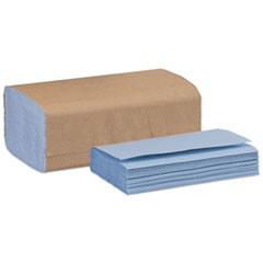 "Windshield Towel, 10.25"" x 9.125"", Blue, 140/Pack, 16 Packs/Carton"