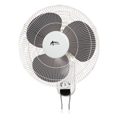 Wall Mount Fan, 3-Speed, White