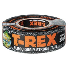 "T-Rex Duct Tape, 17 mil, 1.88"" x 35 yds, 3"" Core, Silver"